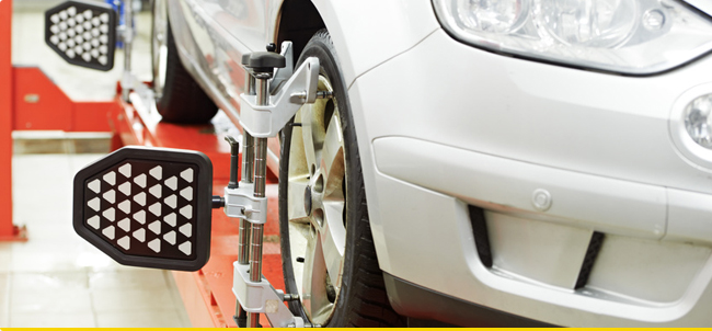 Wheel Alignment and Tracking Pinner
